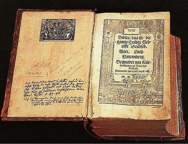 Bibbia di Lutero del 1534