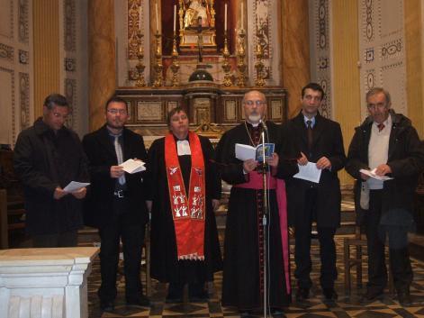 preghiera ecumenica comiso