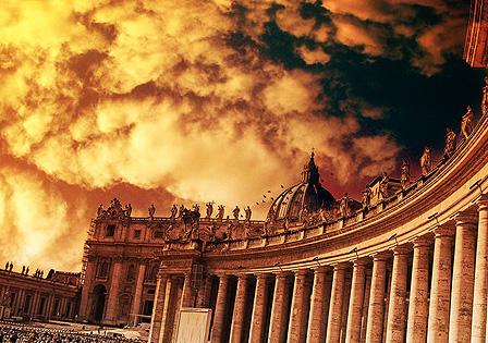 Kolonnade von St. Peter