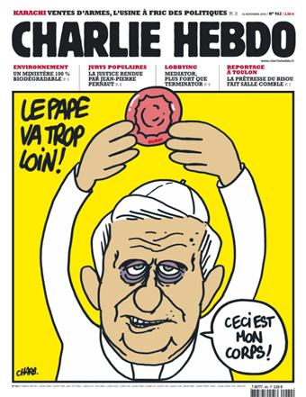charlie hebdo - benedetto XVI