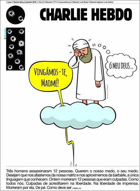 charlie-Hebdo- Chegamos a você Muhammad jpg
