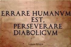 Errar humano é - cover