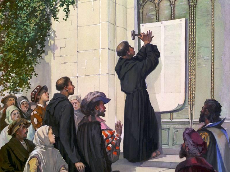 eretici luterro 95 tesi