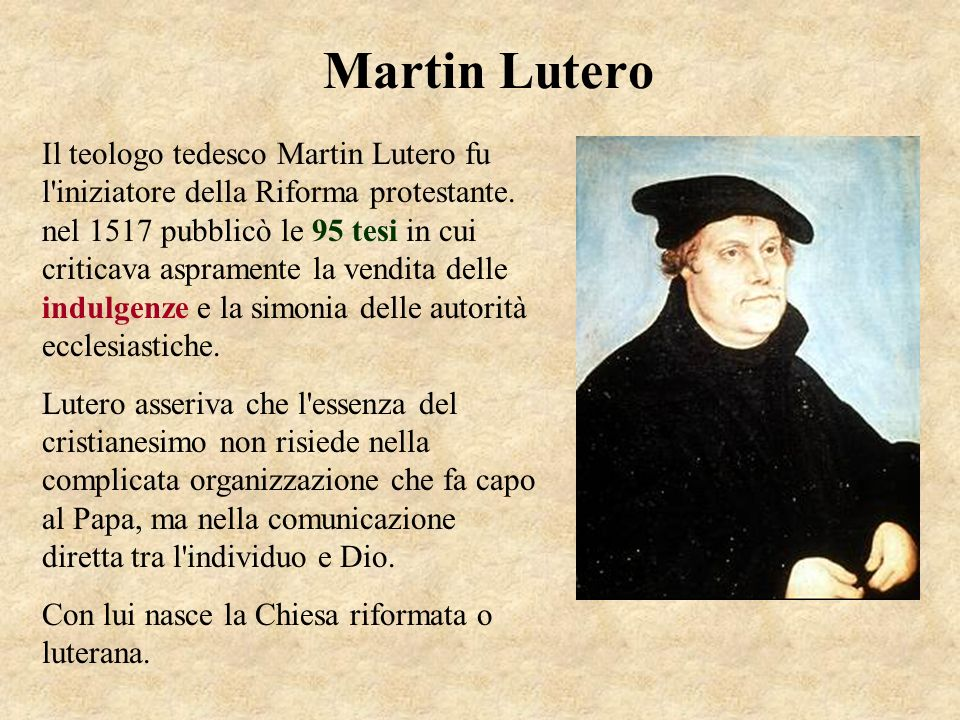 Luther slide