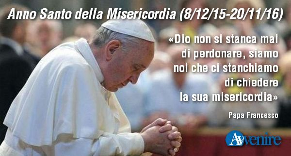 papa francesco misericordia