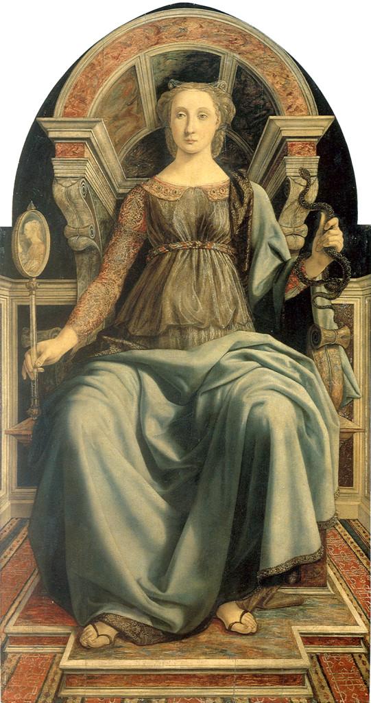 Prudenza Piero del Pollaio XV sec