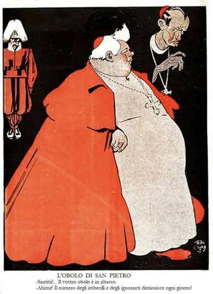 S. Pius X cartoon