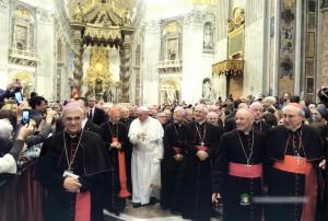 francis und Bischöfe
