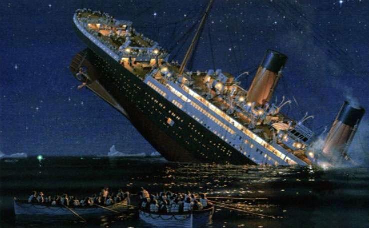 Titanic mergerentur