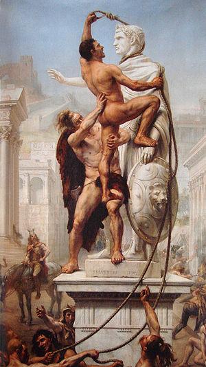 Sack of Rome JN Sylvestre 1890
