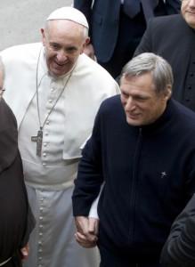 Papst und Ciotti