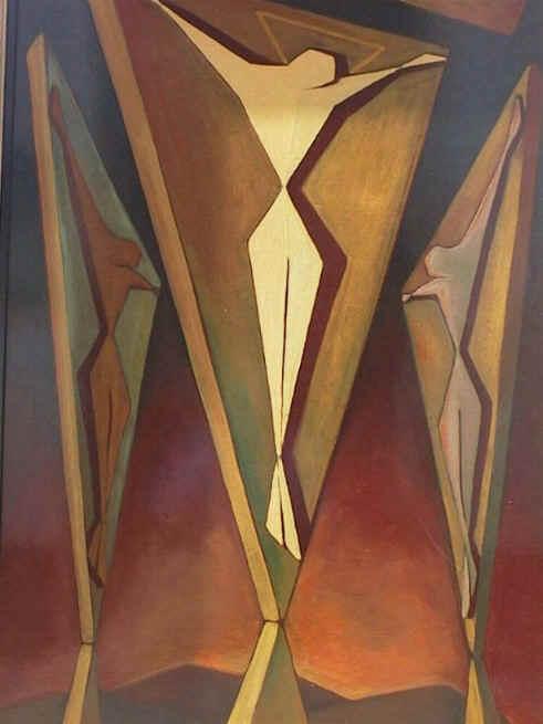 Kreuzigung, 1954