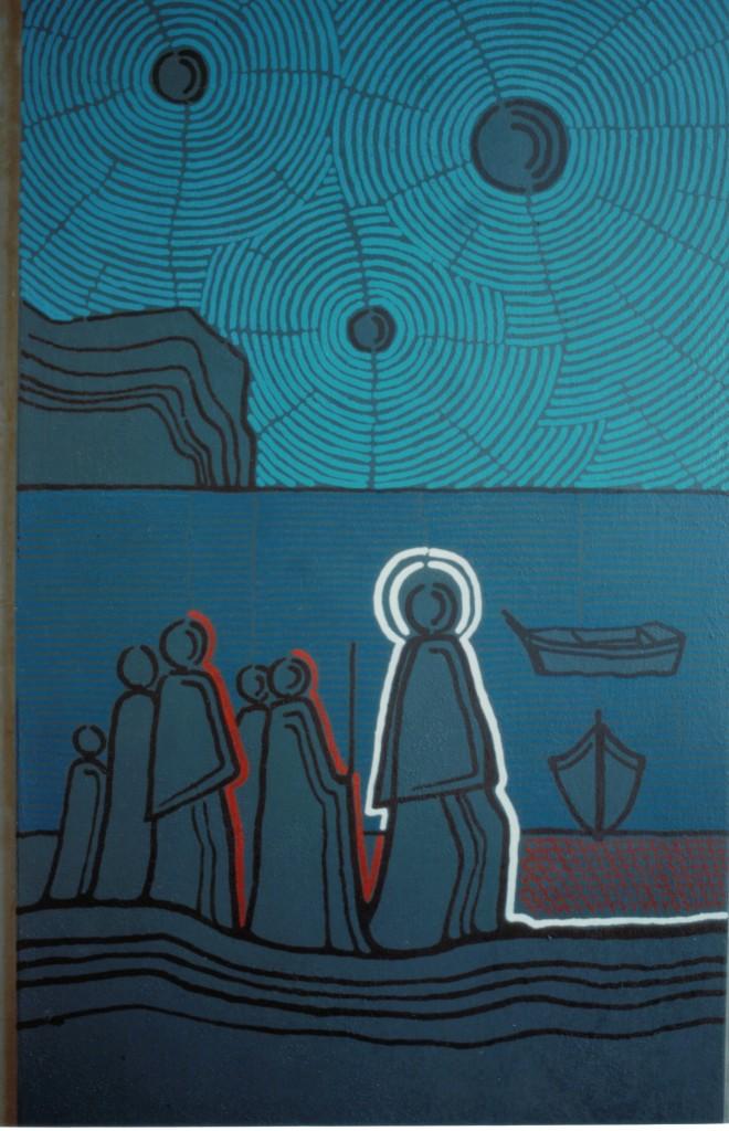 Jesus-Fischer insbesondere Männer Noto Grabkapelle