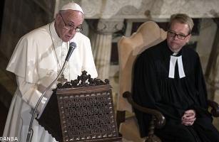papa visita luterani 1