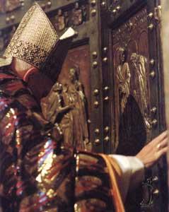 Porta Santa Giovanni Paolo II 2