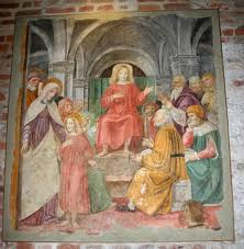 Milan - S. Ambrogio - tesouro - escola Bergognone