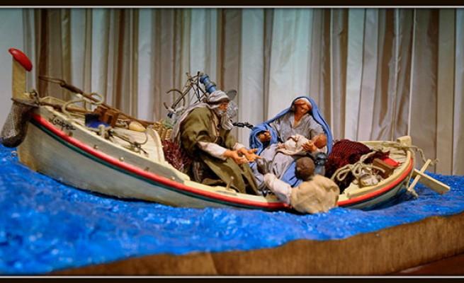 Presepe donato da papa Francesco a Lampedusa
