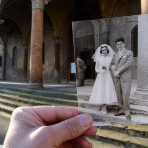 Bologna-chiesa-del-Baraccano-anni-50 giuseppe savini
