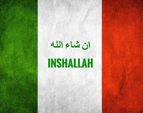 bandiera italiana inshalla
