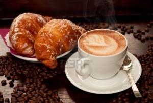 cappuccino e cornetti