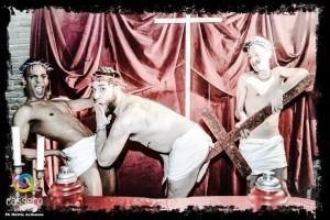 gay pride show de palavrões em Bolonha 1