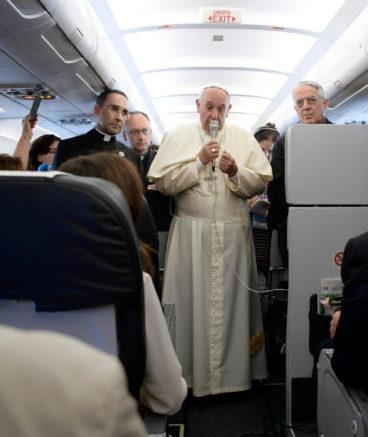 Papa retorno à Arménia