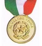 medaglia valore civile