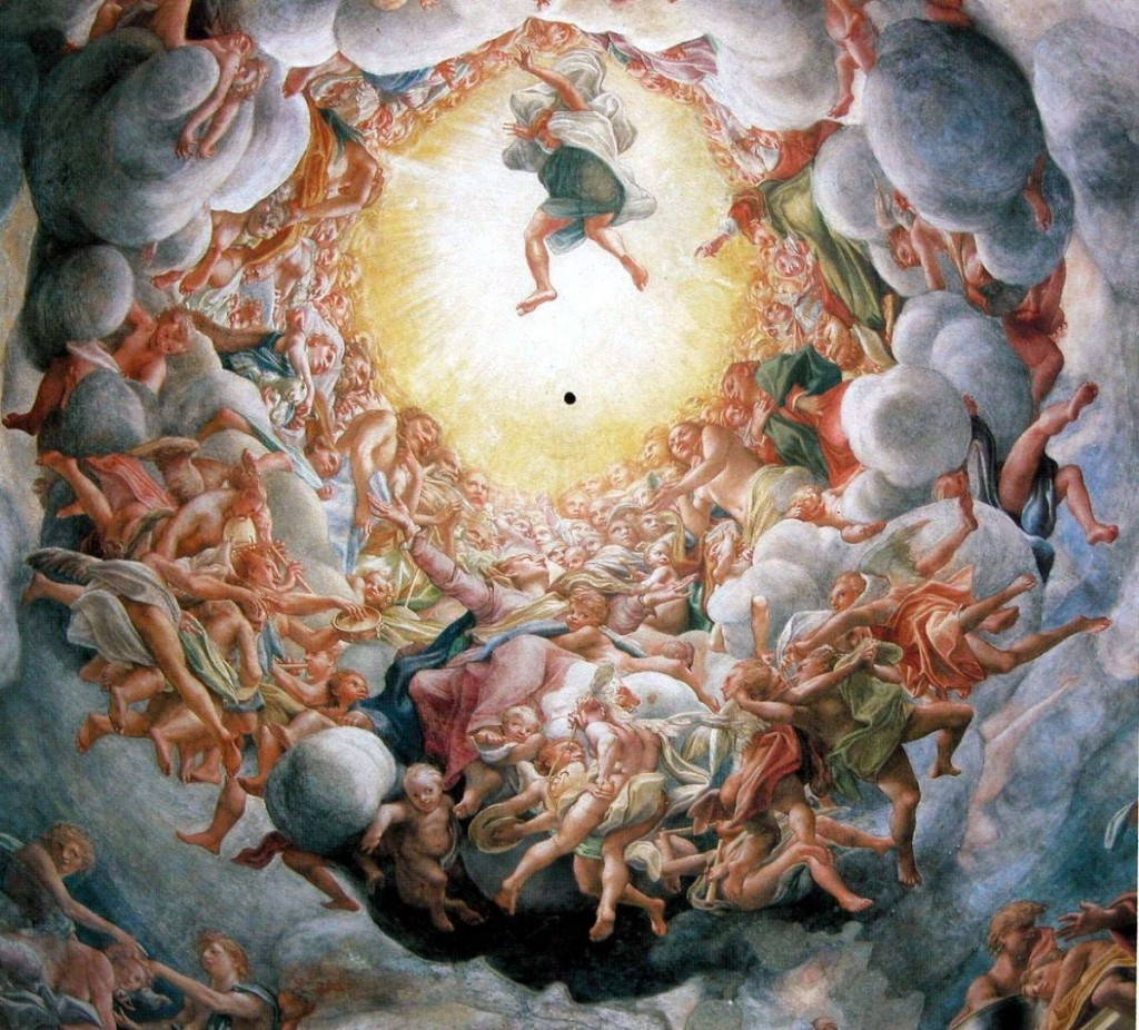 Kuppel-correggio-parma-Auferstehung-of-Toten