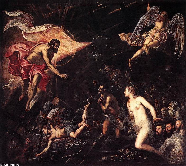 Descensus ad inferos Tintoretto