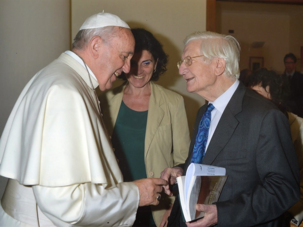 Raniero Valley and the Holy Father